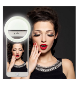 Clip-On Smartphone Ring Light: Selfie/Photo LED Lights
