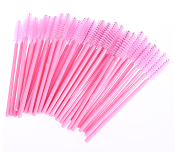All Pink Tower Disposable Mascara Wands Brushes