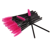 Fuchsia Tower Disposable Mascara Wands Brushes
