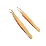Gold Volume Tweezers Set